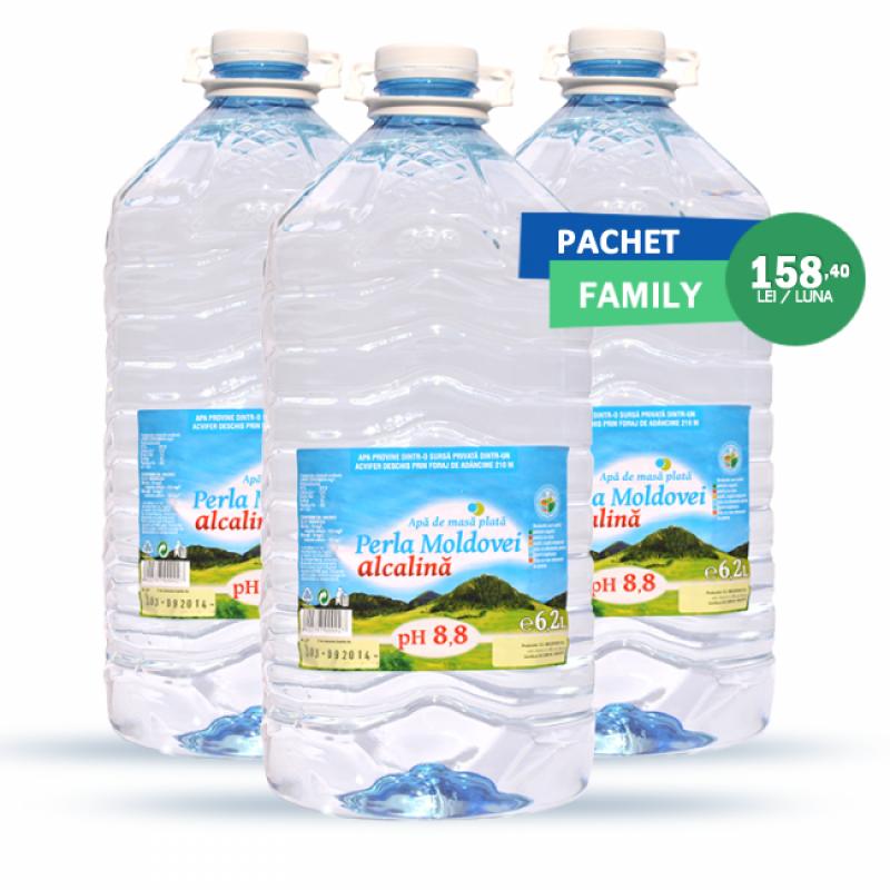 Pachet Family apa Perla Moldovei