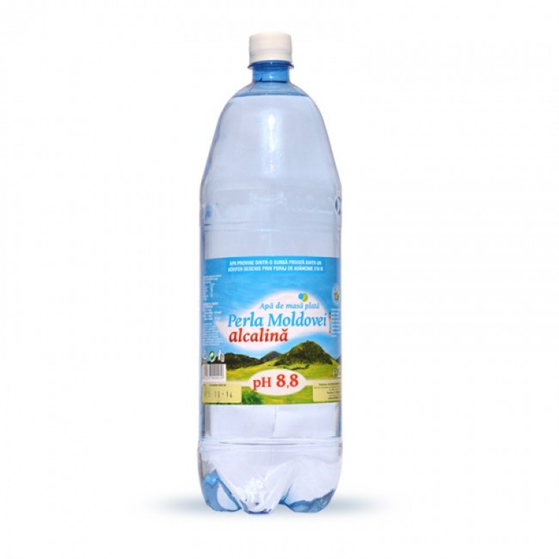 Apa alcalina Perla Moldovei 2 litri
